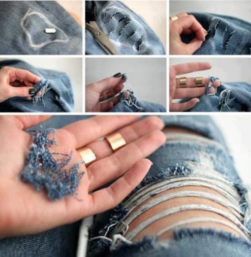 torn jeans vaqueros rotos rajados 14
